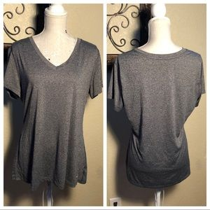Champion Duo Dry V-Neck Workout Top size XXL